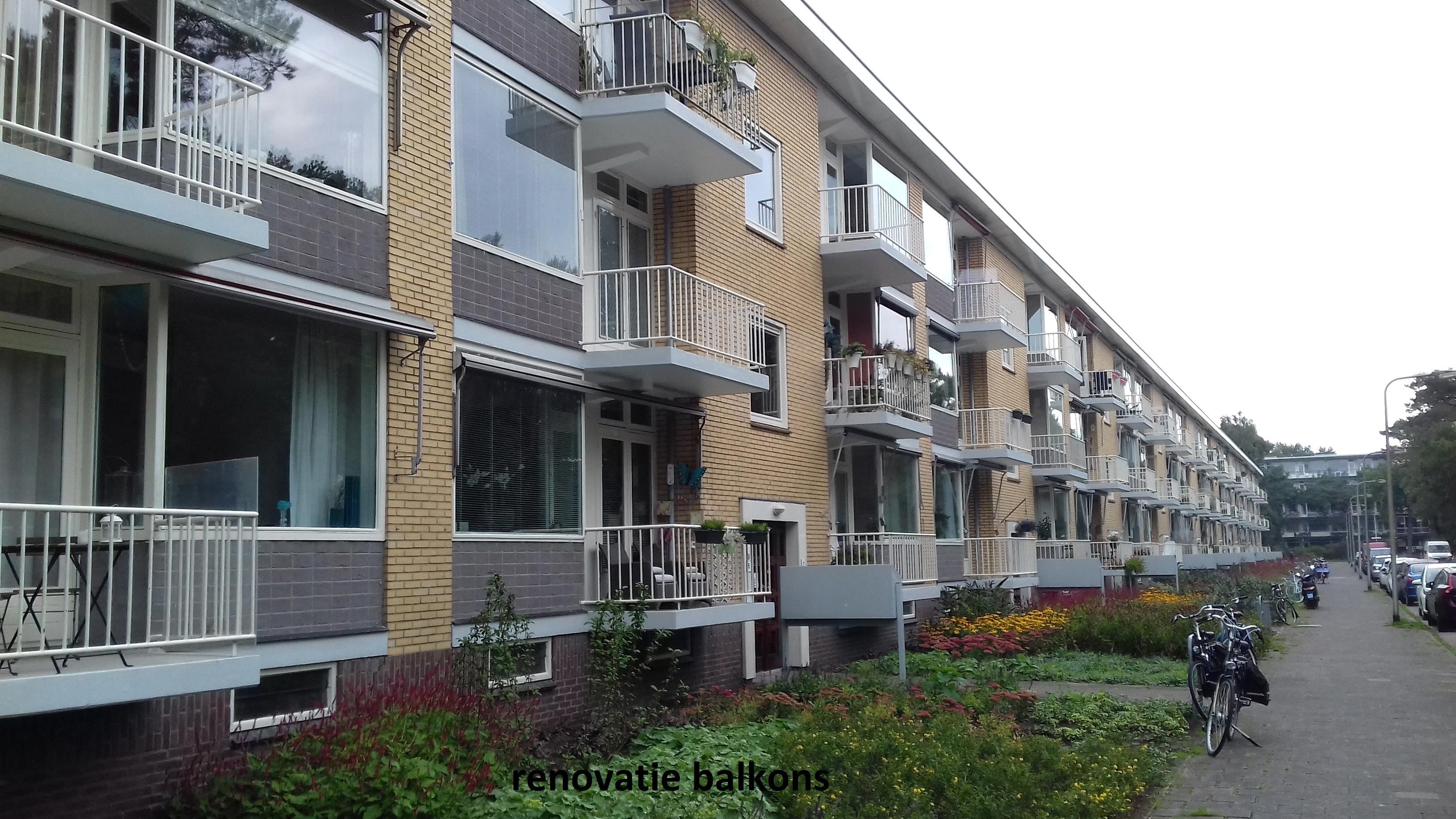 renovatie balkons